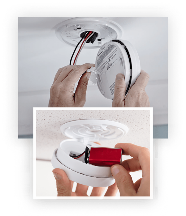 Picture of Smoke Alarm Installation