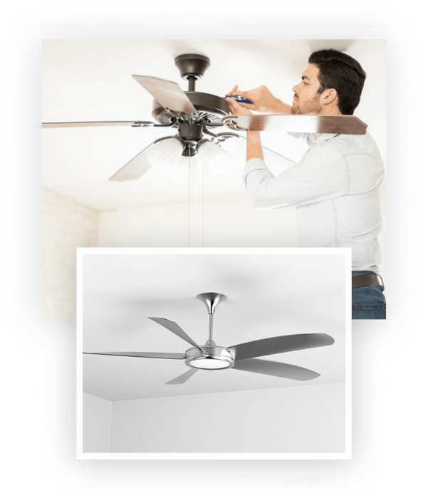 Picture of Ceiling Fan Installation